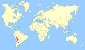 Andean Flamingo Map