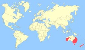 Australian Shoveler Map