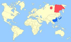 Baikal Teal Map
