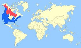 Bufflehead Map