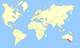 Cape Barren Goose Map