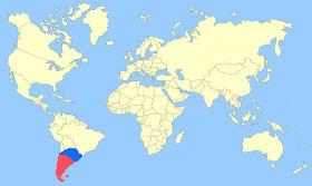 Chiloe Wigeon Map