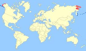 Emperor Goose Map