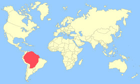 Orinoco Goose Map