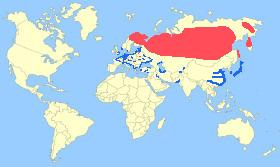 Smew Map