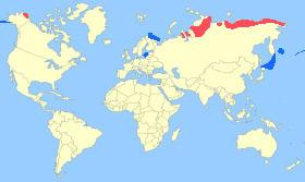 Steller's Eider Map