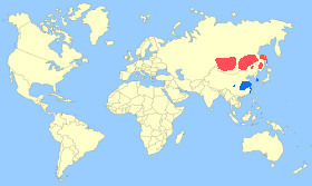 Swan Goose Map