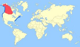 White-winged Scoter Map
