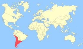 Yellow-billed Pintail Map